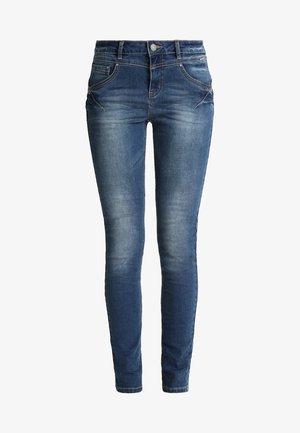 AMALIE SHAPE - Slim fit jeans - rich blue denim