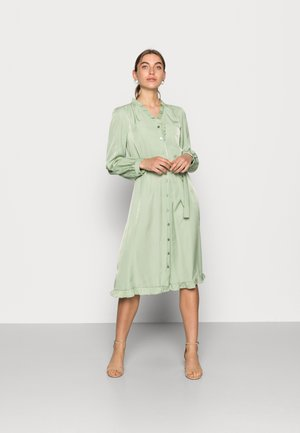 ELYSSE SHIRT DRESS - Blousejurk - reseda