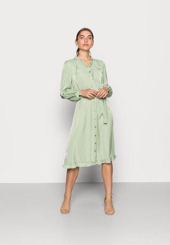 ELYSSE SHIRT DRESS - Shirt dress - reseda