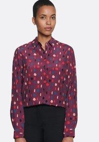 Seidensticker - Button-down blouse - red - 0