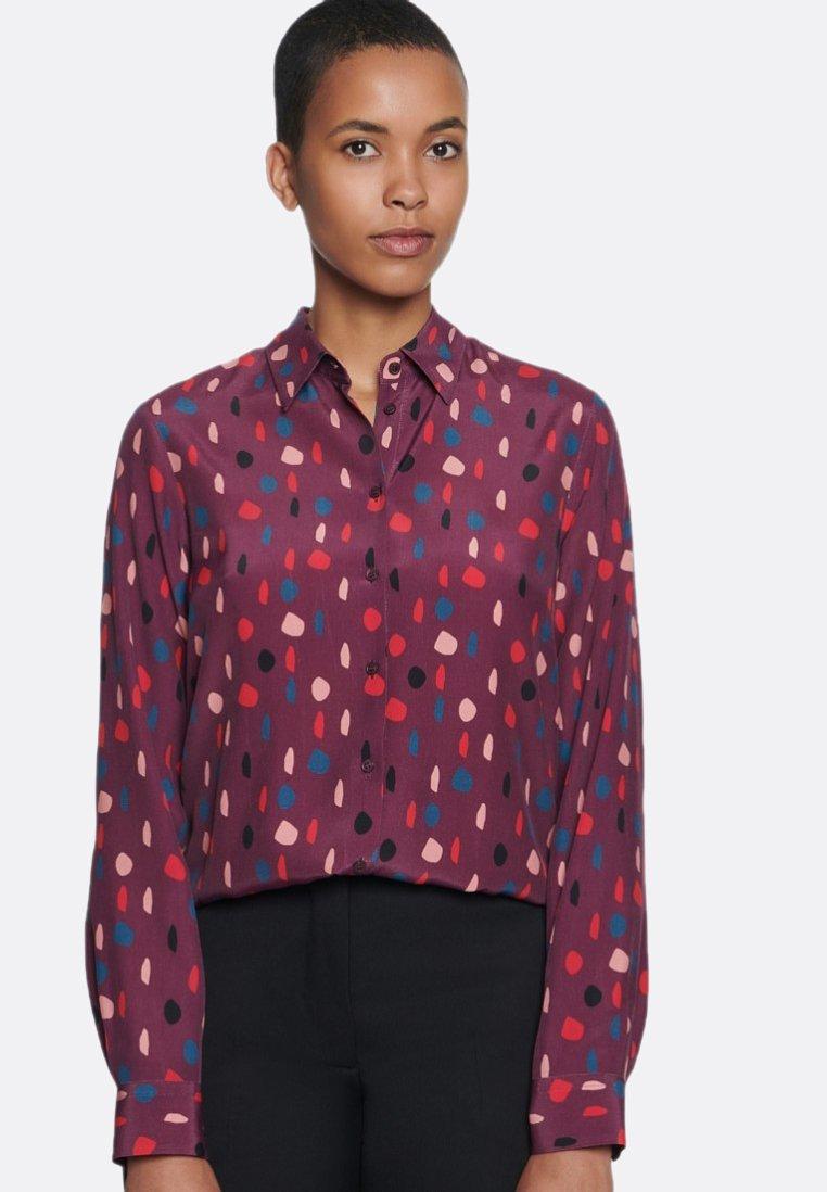 Seidensticker - Button-down blouse - red
