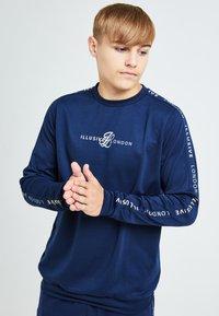 Illusive London Juniors - ILLUSIVE LONDON LEGACY - Sweatshirt - navy & cream - 0