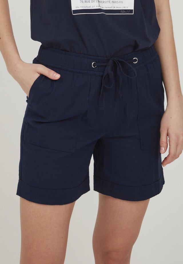 Shorts - navy blazer