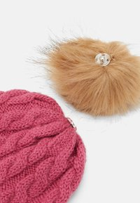 Name it - NBFMANUN HAT - Beanie - rose wine - 2