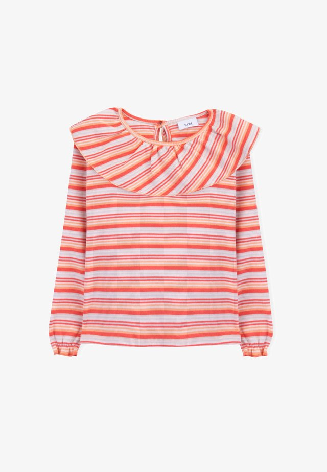 Long sleeved top - multicolor
