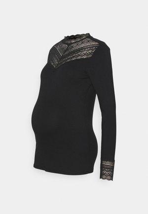 FANCY - Long sleeved top - black