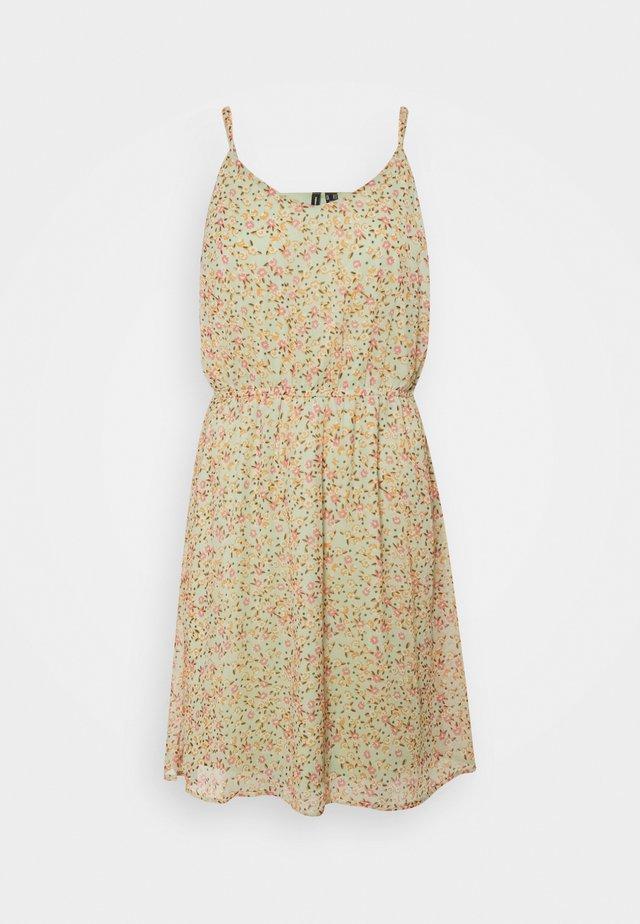 VMKAY SINGLET SHORT DRESS - Day dress - laurel green
