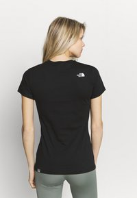 The North Face - SIMPLE DOME TEE - T-shirts - black - 2