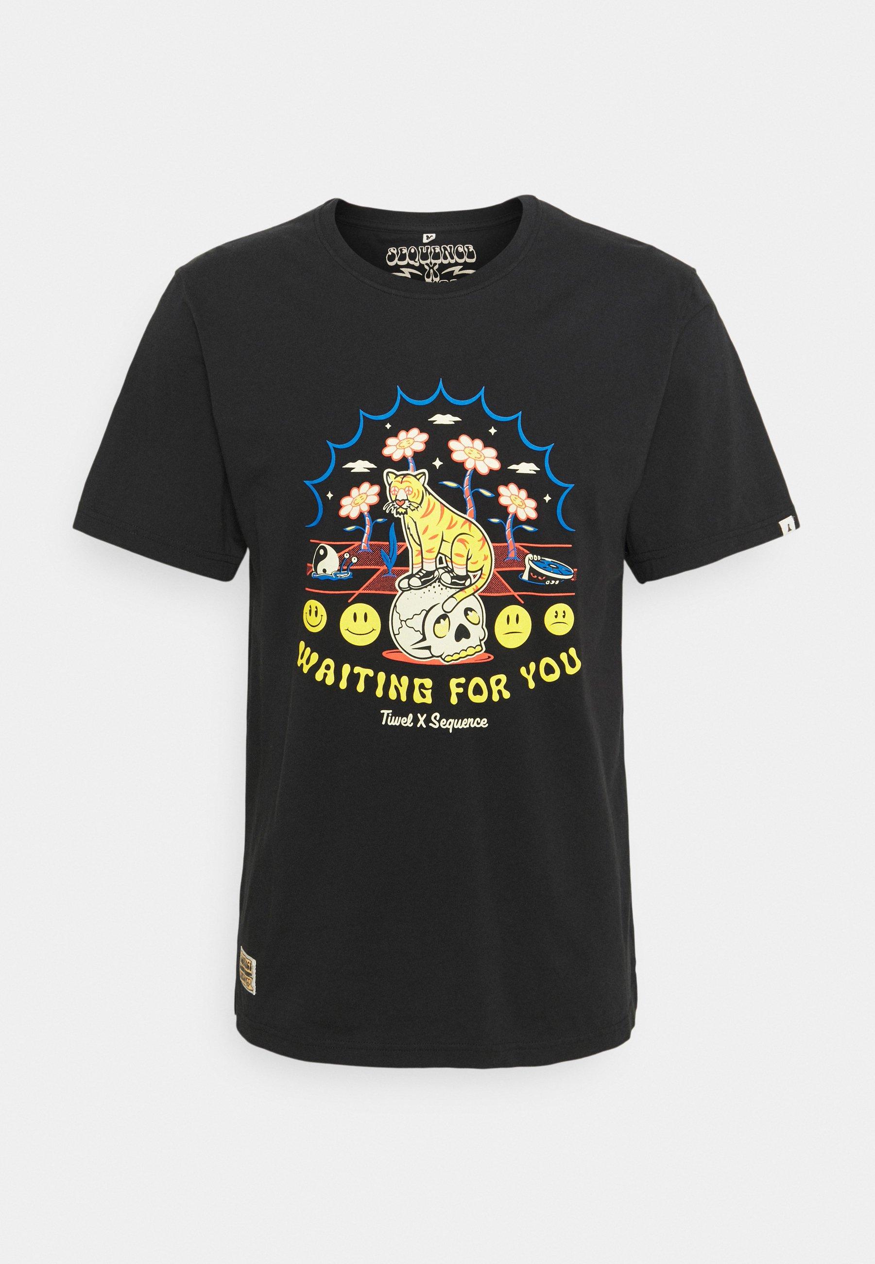 Men SEQUENCE X TIWEL 4 YOU - Print T-shirt