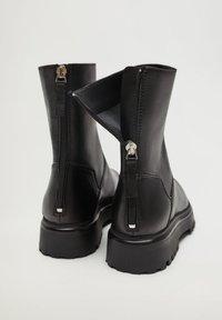 Mango - HECTOR2 - Ankle boots - czarny - 4