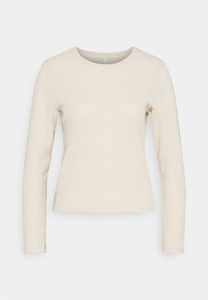 ONLCORTNEY BOXY - Long sleeved top - pumice stone