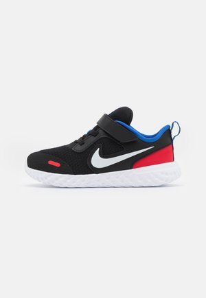 REVOLUTION 5 UNISEX - Neutral running shoes - black/white/universe red/game royal