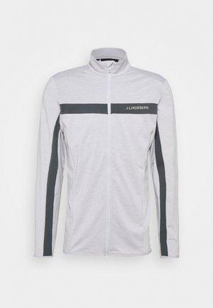 SEASONAL JARVIS - Veste de survêtement - stone grey melange