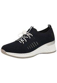 Rieker - RIEKER SNEAKER - Sneakers basse - navy/pazifik 14 - 3