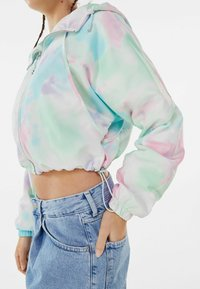 Bershka - MIT KAPUZE  - Summer jacket - turquoise - 3