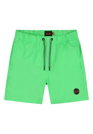 SOLID MIKE - Swimming shorts - new neon green