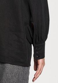 Lounge Nine - BOP - Button-down blouse - pitch black - 4