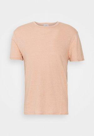 CLASH TEE - T-shirt basic - rose pêche