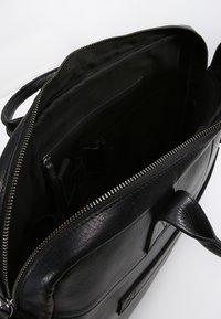 Still Nordic - CLEAN BRIEF ROOM UNISEX - Briefcase - black - 4
