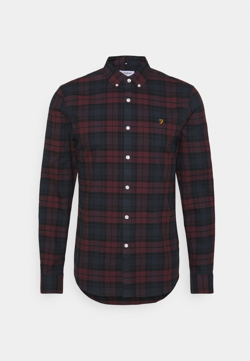 Farah - BREWER CHECK - Skjorta - farah red