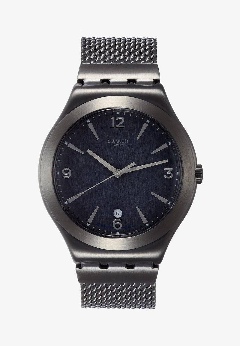 Swatch - MESH O'LIGHT - Orologio - black
