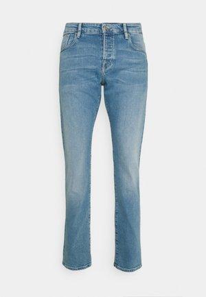 Jean droit - blauw trace