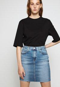 AG Jeans - ERIN - Jupe en jean - blue - 4