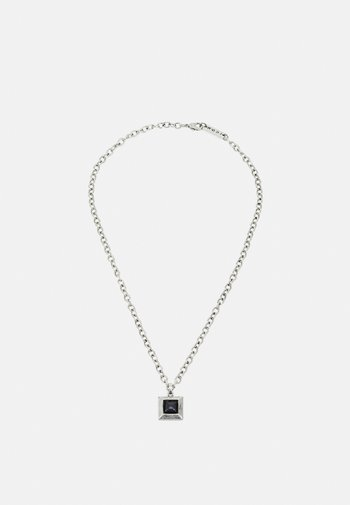 LUXE SQUARE NECKLACE - Halsband - silver-coloured