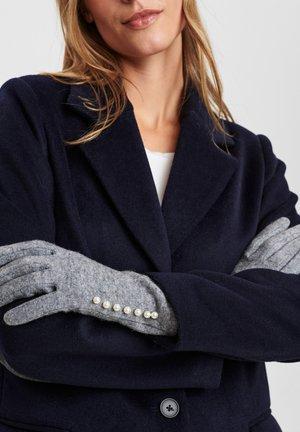 Gloves - light grey mel