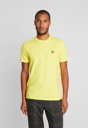 Basic T-shirt - buttercup yellow