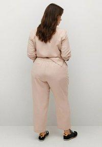 Violeta by Mango - Spodnie materiałowe - rose pastel - 0