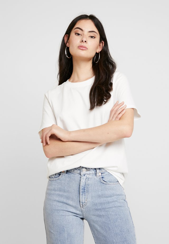 SAFFI - T-shirt basic - snowwhite