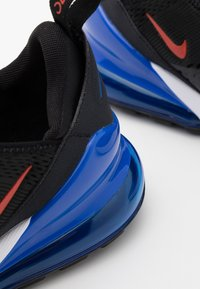 Nike Sportswear - AIR MAX 270 UNISEX - Trainers - black/chile red/hyper royal/white - 5