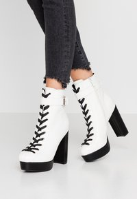 co wren - High heeled ankle boots - white - 0