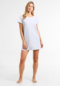 Zalando Essentials - 2 PACK - Nightie - black/light grey - 0