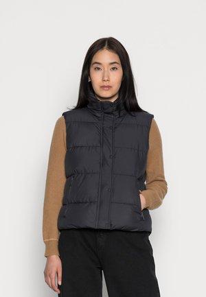 VEST ILSE - Vest - black