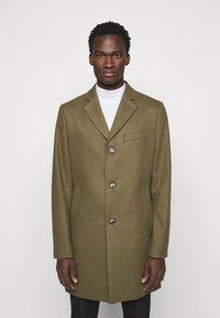 J.LINDEBERG - WOLGER COMPACT MELTON COAT - Classic coat - moss green - 0