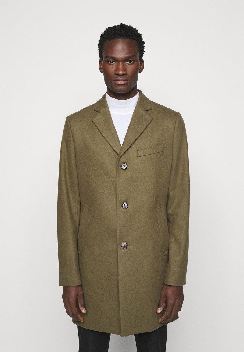 J.LINDEBERG - WOLGER COMPACT MELTON COAT - Classic coat - moss green