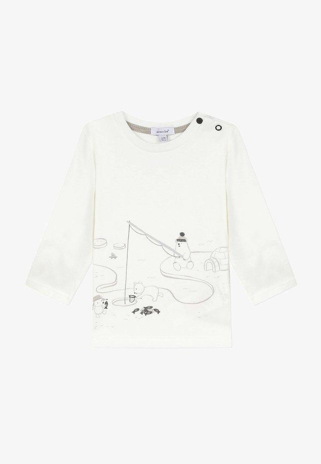 BOUTIQUE - T-shirt à manches longues - ecru