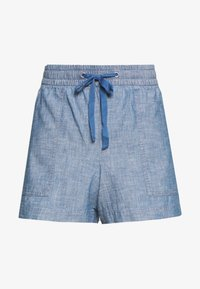 GAP - V-PULL ON UTILITY - Shorts - blue chambray - 3