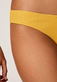 OYSHO - Bikini bottoms - yellow - 4
