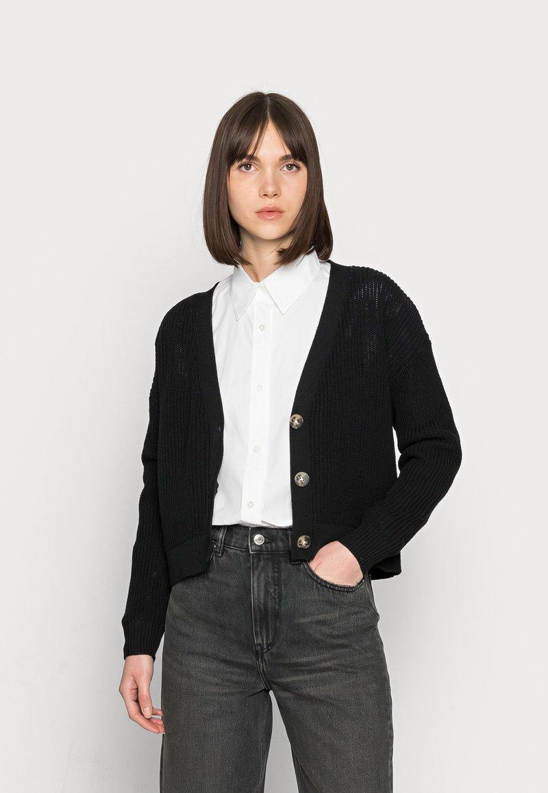 Selected Femme - SLFSINNA CARDIGAN - Cardigan - black