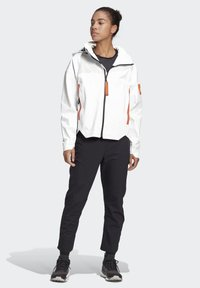 adidas Performance - MYSHELTER URBAN RAIN.RDY OUTDOOR - Waterproof jacket - white - 1