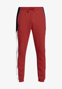Nike Sportswear - Spodnie treningowe - university red/white - 4