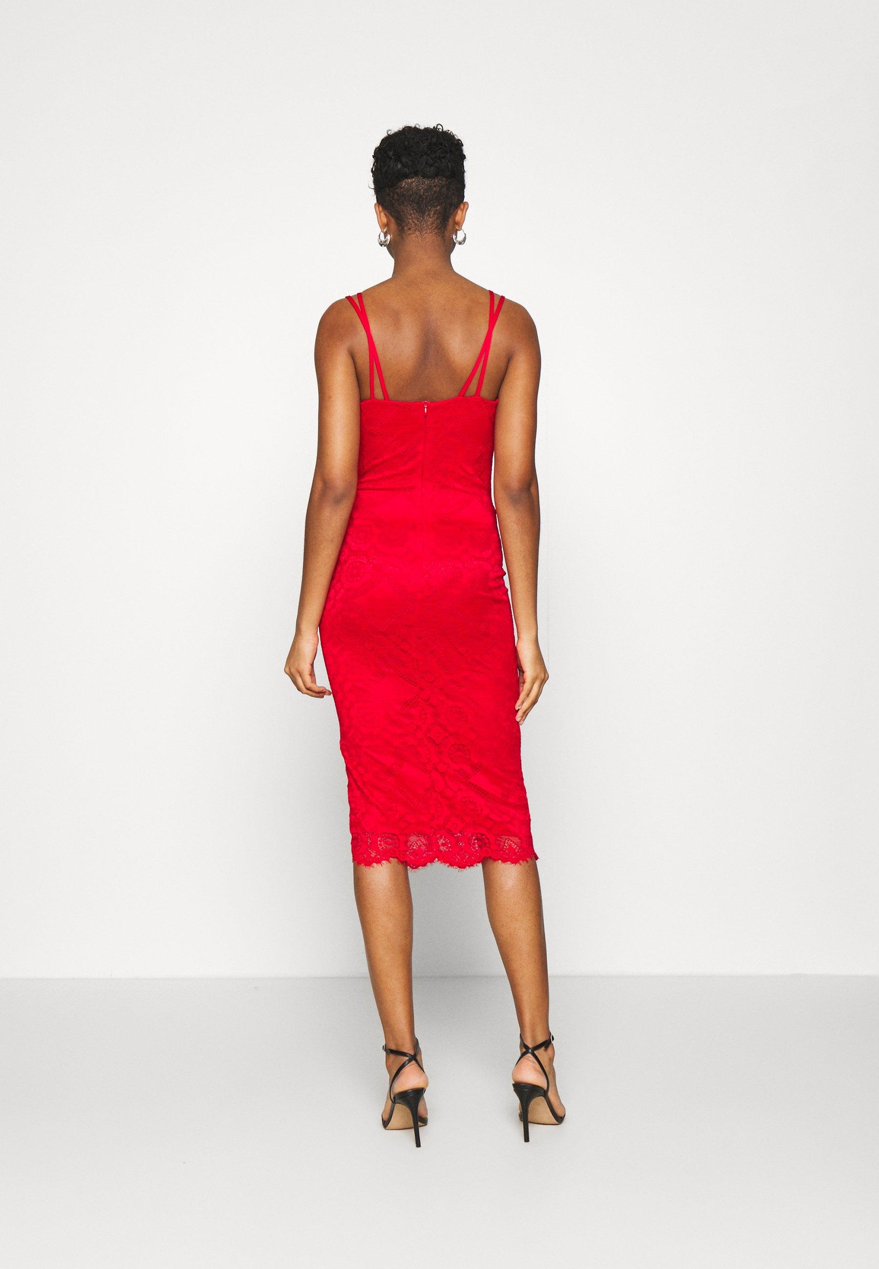 WAL G. TYLER BODYCON DRESS Freizeitkleid red/rot