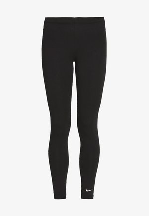 CLUB - Leggings - black/(white)