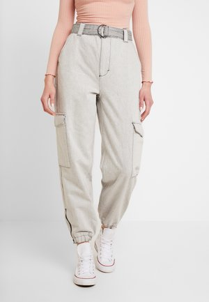 JUDO - Relaxed fit jeans - grey
