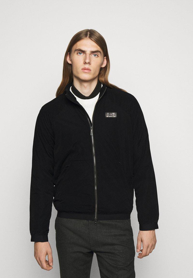 EA7 Emporio Armani - BLOUSON - Light jacket - black