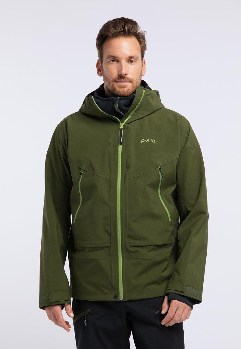 PYUA - GORGE - Giacca da snowboard - rifle green