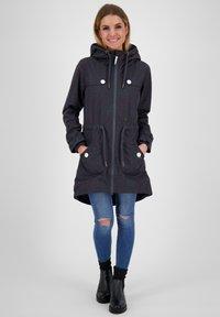 alife & kickin - CHARLOTTEAK - Short coat - marine - 1